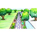 How to Draw One Point Perspective Landscape