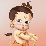 How to Draw Baby Hanuman