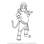 How to Draw Bal Hanuman
