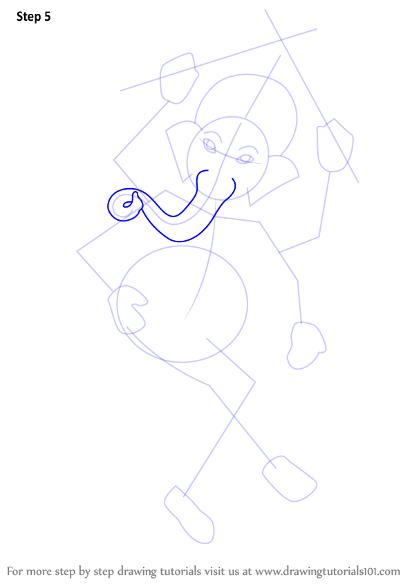Learn How To Draw Lord Ganesha Hinduism Step By Step Drawing