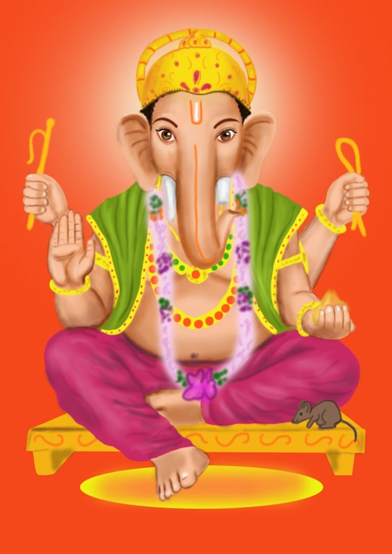 Learn How To Draw Ganpati Bappa Hinduism Step By Step Drawing