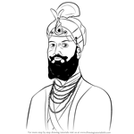 How to Draw Guru Hargobind