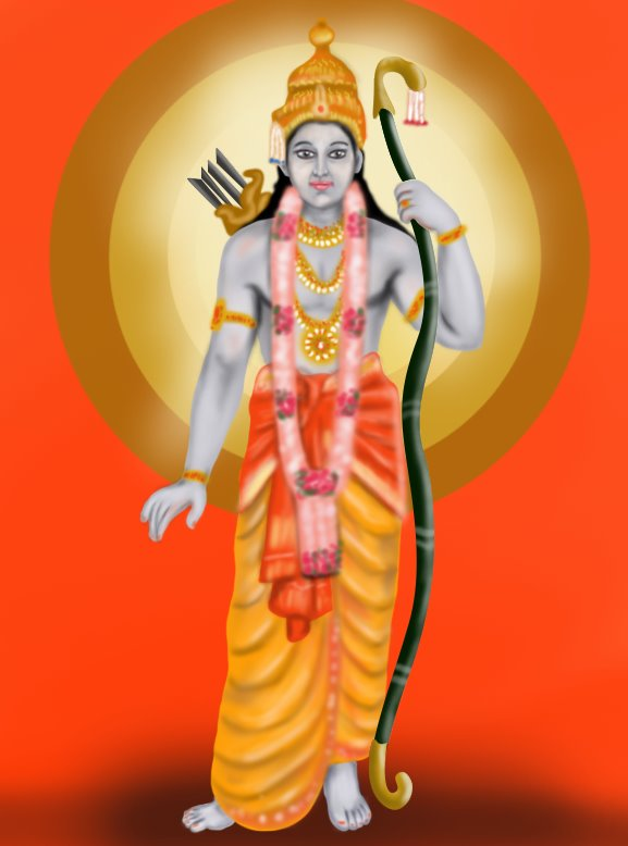 Learn how to draw lord rama hinduism step by step drawing tutorials freerunsca Choice Image