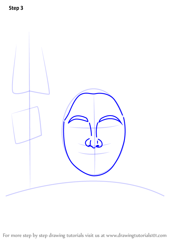 Learn How to Draw Lord Shiva Face (Hinduism) Step by Step