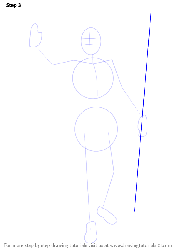 Learn How To Draw Lord Shiva Standing Hinduism Step By Step Drawing Tutorials