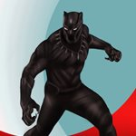 How to Draw Black Panther from Captain America Civil War