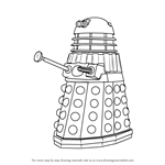 How to Draw Dalek from Doctor Who