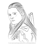 How to Draw Legolas form Lord of the Rings