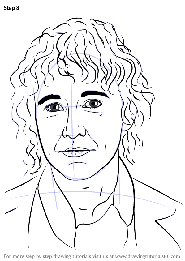Step By Step How To Draw Pippin From Lord Of The Rings