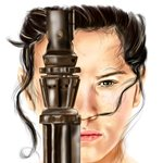 How to Draw Rey from Star Wars - The Force Awakens