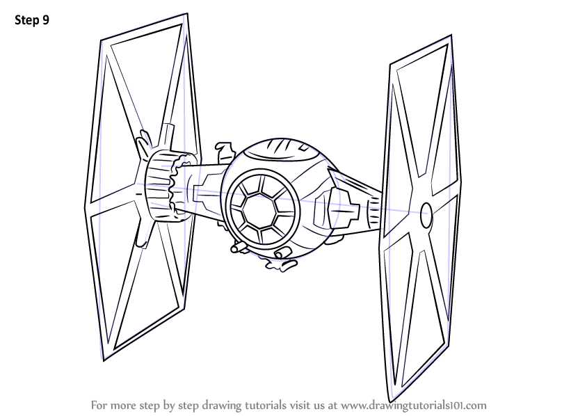 Tie Fighter Coloring Coloring Coloring Pages