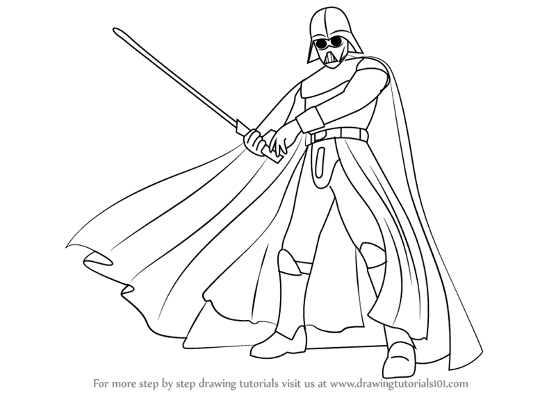 Learn How to Draw Darth Vader from