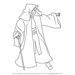 How to Draw Emperor Palpatine from Star Wars