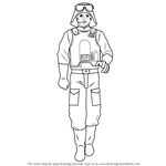 How to Draw General Veers from Star Wars