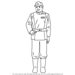 How to Draw Gilad Pellaeon from Star Wars