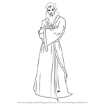 How to Draw Joruus C'Baoth from Star Wars