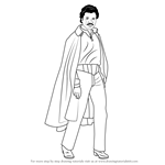 How to Draw Lando Calrissian from Star Wars