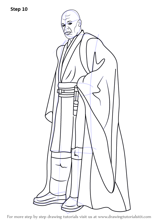 Learn How to Draw Mace Windu from