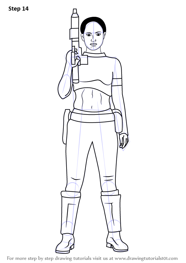 Padme Coloring Pages