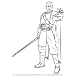 How to Draw Rahm Kota from Star Wars