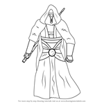 How to Draw Revan from Star Wars
