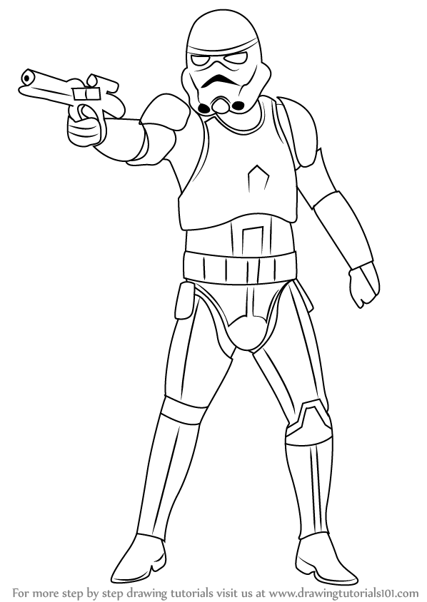 Learn How to Draw Stormtrooper