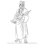How to Draw Tusken Raider from Star Wars