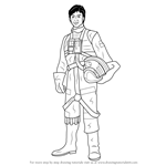 How to Draw Wedge Antilles from Star Wars