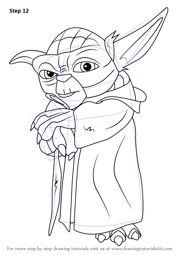 Learn How to Draw Yoda from Star