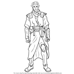 How to Draw Zayne Carrick from Star Wars