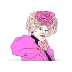 How to Draw Effie from The Hunger Games