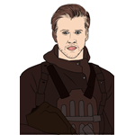 How to Draw Gale from The Hunger Games