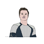 How to Draw Peeta Mellark from The Hunger Games