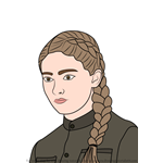 How to Draw Primrose Everdeen from The Hunger Games