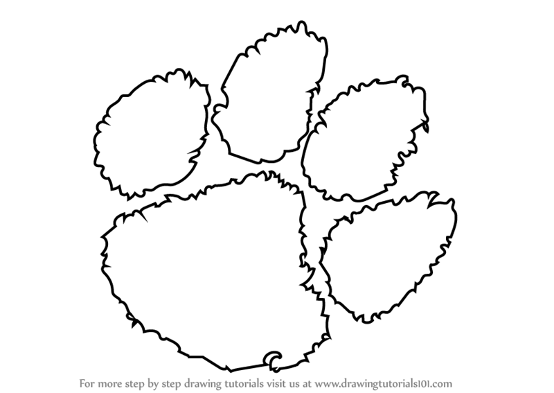 clemson football coloring pages | Printable Coloring Pages Of The Clemson Tigers Football ...