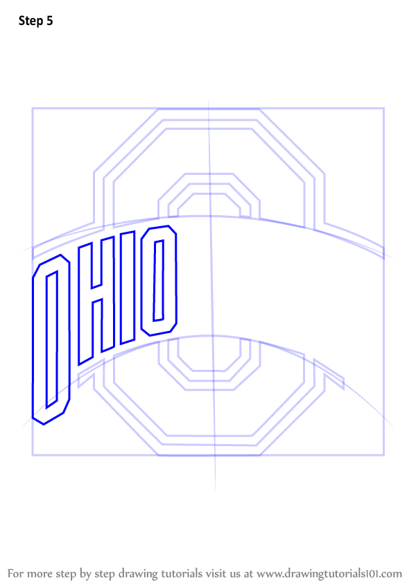 Logo Learn Draw State  (Logos How Ohio and to Buckeyes