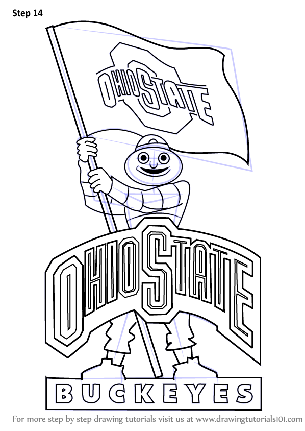 Learn How to Draw Ohio State Buckeyes