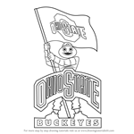How to Draw Ohio State Buckeyes Mascot