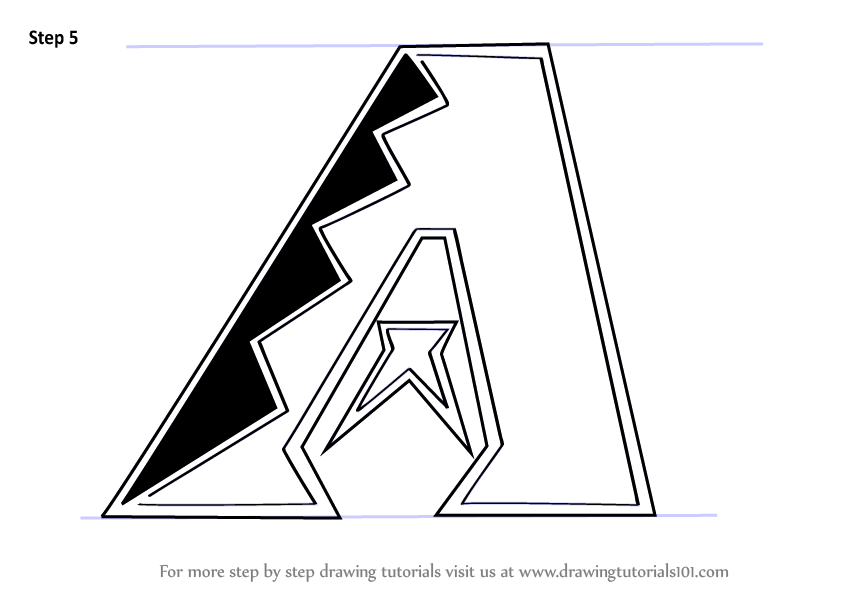 Learn How to Draw Arizona Diamondbacks