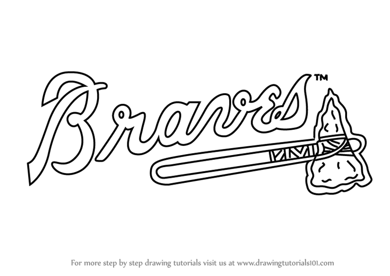 braves mascot coloring pages - photo#5