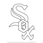 How to Draw Chicago White Sox Logo