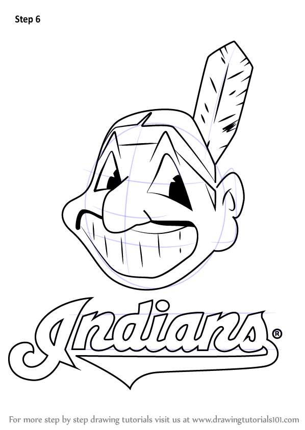 Learn How to Draw Cleveland Indians