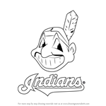 How to Draw Cleveland Indians Logo