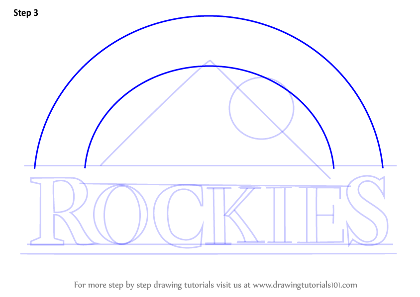 colorado rockies logo coloring pages - photo#15