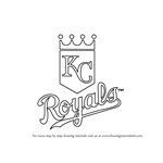 How to Draw Kansas City Royals Logo