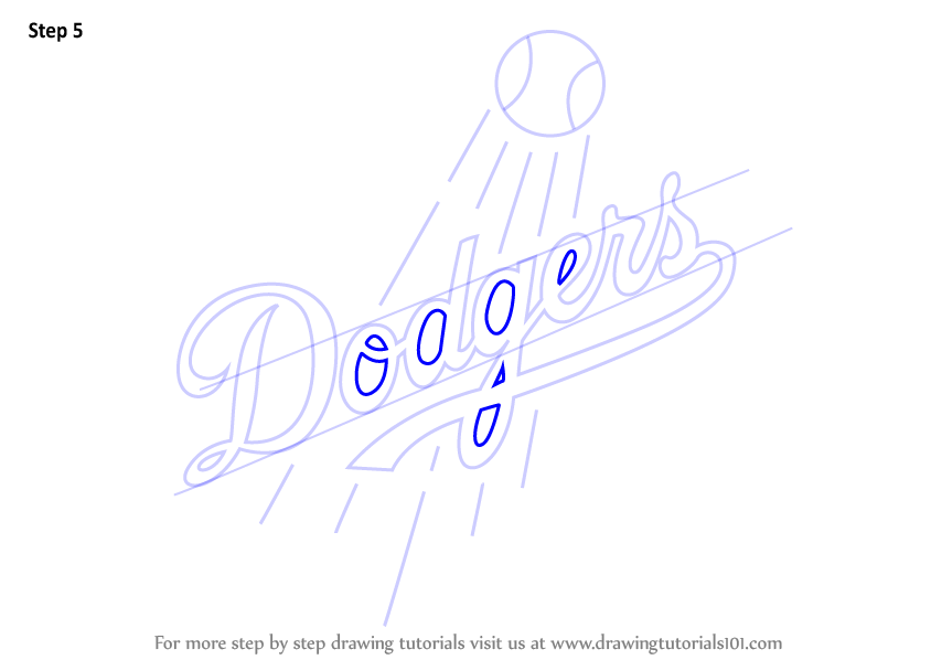 los angeles dodgers coloring pages - photo#31