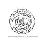 How to Draw Minnesota Twins Logo