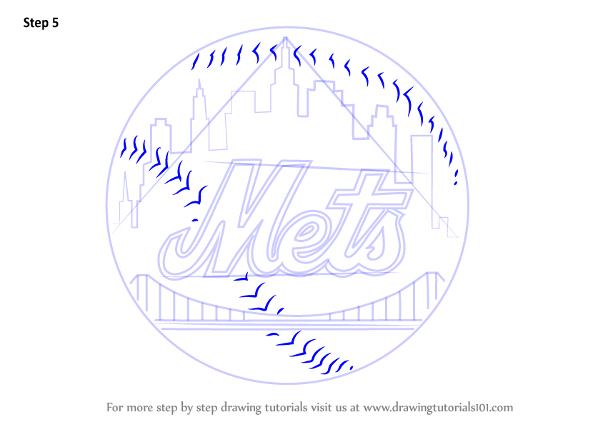 ny mets logo coloring pages - photo#20