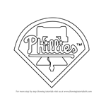 How to Draw Philadelphia Phillies Logo