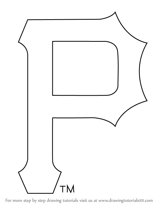 pirates logo baseball coloring pages - photo#17